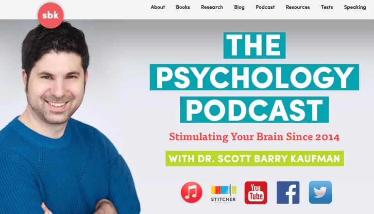 The Psychology Podcast With Dr. Scott Barry Kaufman