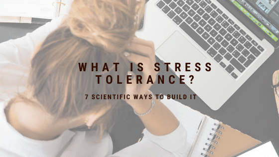 What is stress tolerance