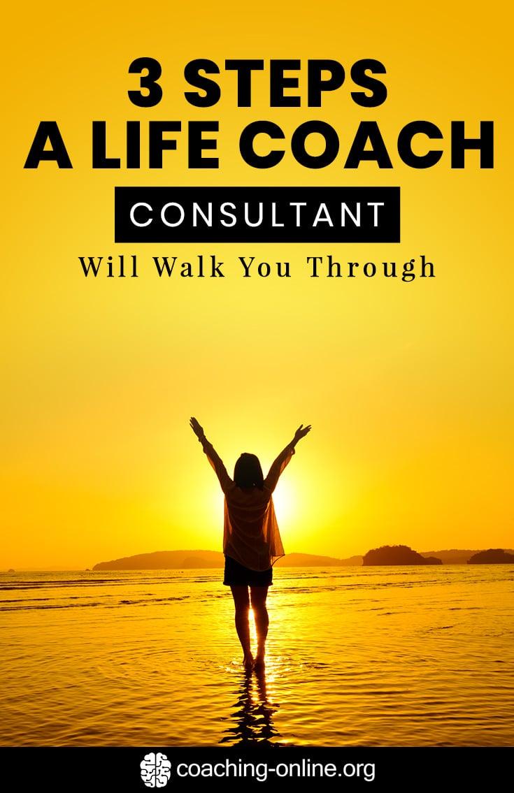 20 Steps A Life Coach Consultant Will Walk You Through