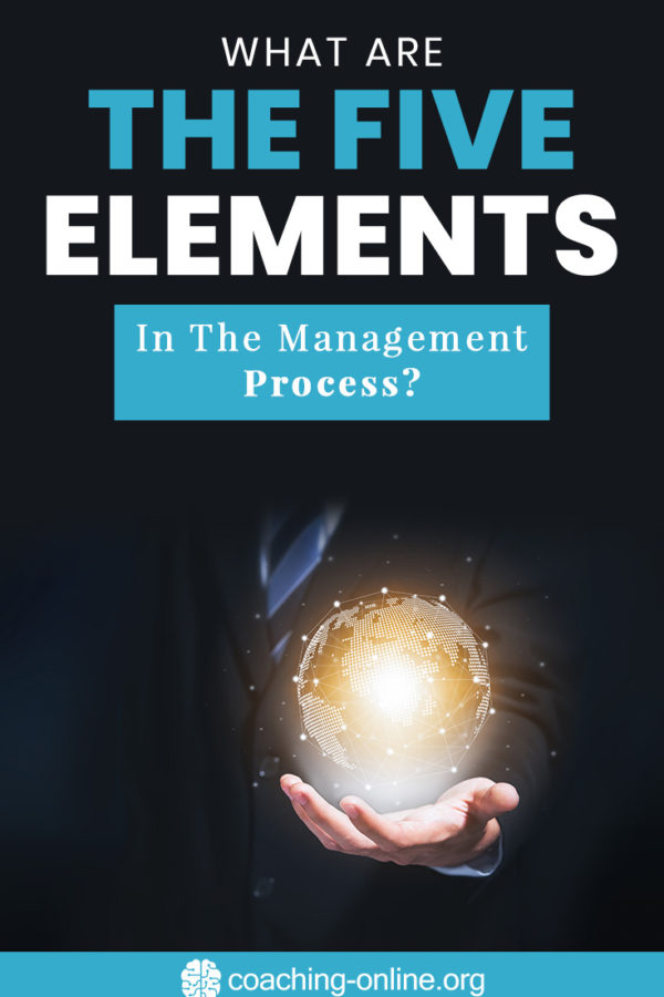 What Are The Five Elements In The Management Process