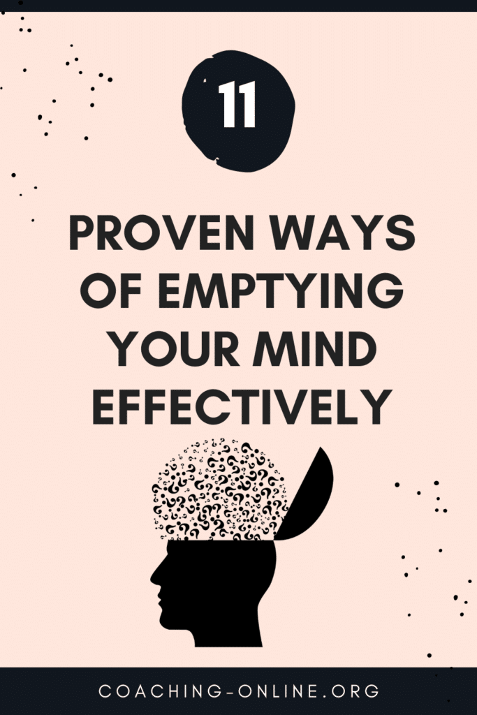 Emptying your mind