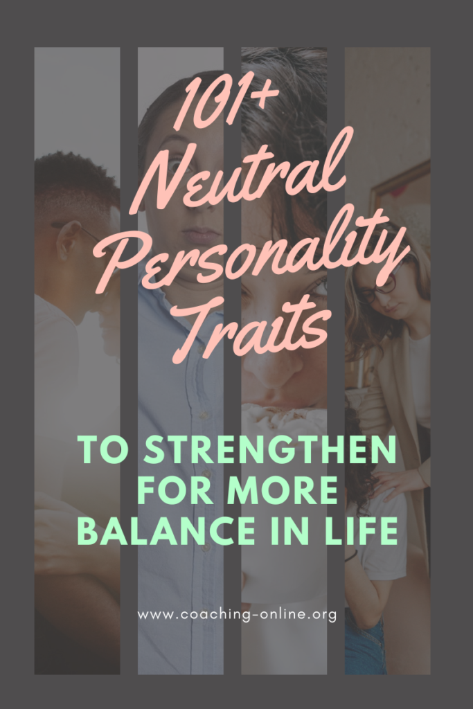 Neutral Personality Traits