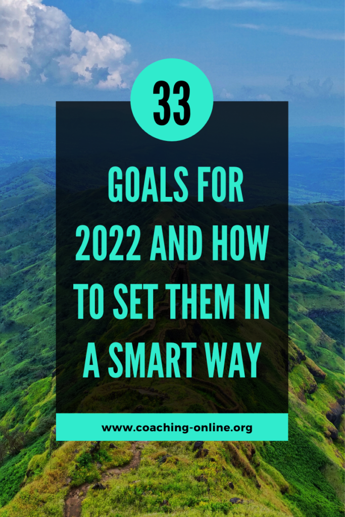 Goals for 2022