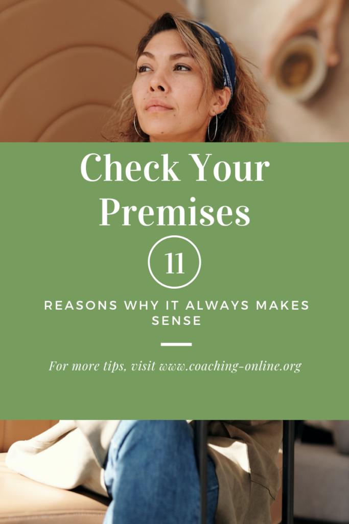 Check your premises