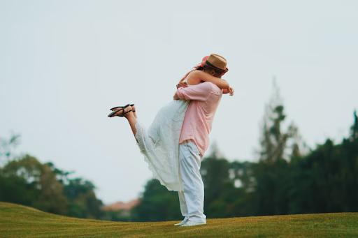 The Twirling Hug